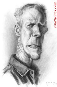 Clint~Eastwood caricature