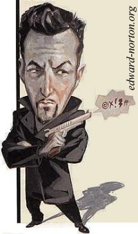 Edward~Norton caricature