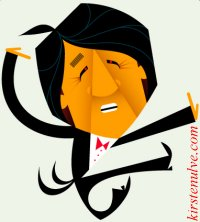 Jackie~Chan caricature