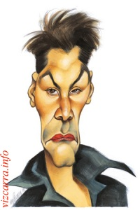 Keanu~Reeves caricature