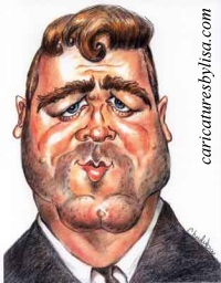 Russell~Crowe caricature
