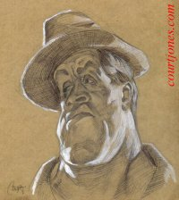 Sylvester~Stallone caricature