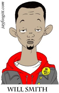 Will~Smith caricature