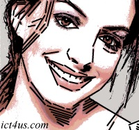 Anne~Hathaway caricature