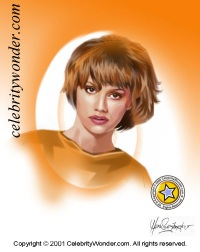 Brittany~Murphy caricature