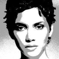 Halle~Berry caricature