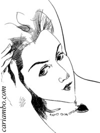 Kate~Winslet caricature