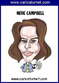 Neve~Campbell caricature