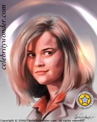 Reese~Witherspoon caricature