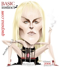 Sharon~Stone caricature