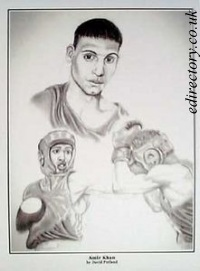 Amir~Khan caricature