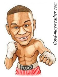 Floyd~Mayweather~Jr~ caricature