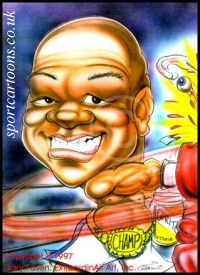George~Foreman caricature