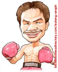 Manny~Pacquiao caricature