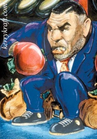 Mike~Tyson caricature