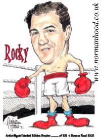 Rocky~Marciano caricature