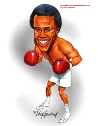 Sugar~Ray~Leonard caricature