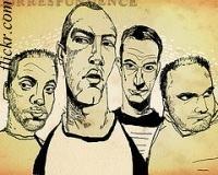 Coldplay caricature