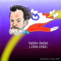 Galileo caricature