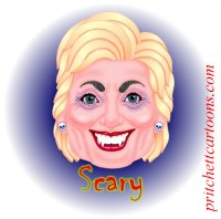 Hillary~Clinton caricature