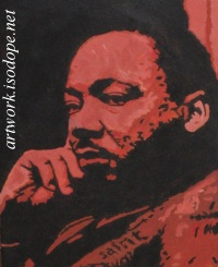 Martin~Luther~King caricature
