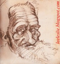 Michelangelo caricature