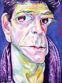 Lou~Reed caricature