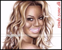 Beyonce~Knowles caricature