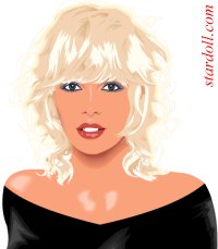 Charlize~Theron caricature