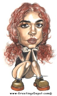 Denise~Richards caricature