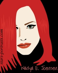 Jennifer~Garner caricature