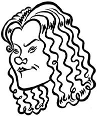 Kate~Hudson caricature
