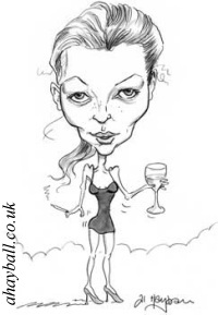 Kate~Moss caricature