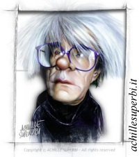 Andy~Warhol caricature